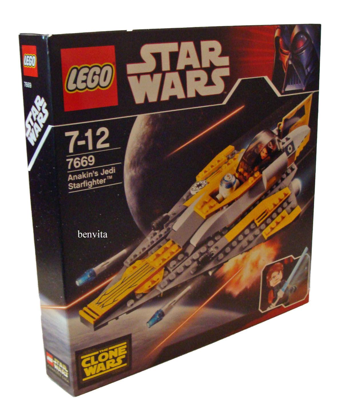 supporto al dettaglio all'ingrosso LEGO ® Estrella Guerras 7669-Anakin 's Jedi stellari 7-12 anni anni anni 153 PEZZI NUOVO nuovo  elementi di novità