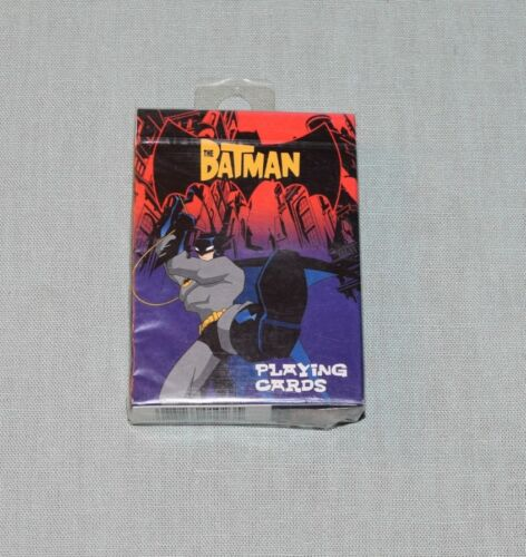 The Batman Playing Cards Bicycle Sealed CN & WB