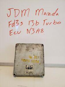 JDM MAZDA RX7 FD3S TWIN TURBO ECU 13B-TT ECU N3A7 ECU 92-95