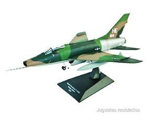 1-72-NORTH-AMERICAN-F-100D-USA-PLANE-AVION-IXO-ALTAYA-DIECAST
