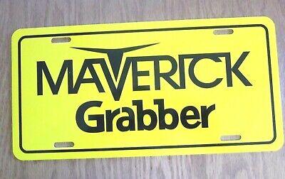 Ford MAVERICK GRABBER tag license plate 1970 1971 1972 1973 1974 1975 1976 1977