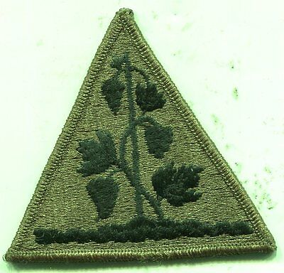 US Army Connecticut Army National Guard OD Subdued Patch