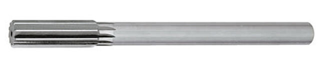 .246 Straight Shank Chucking Reamer High Speed Steel Straight Flute D