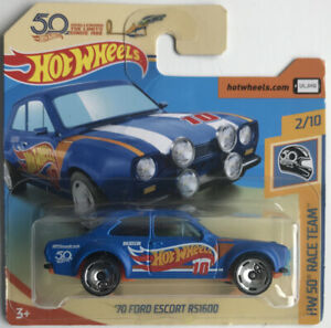 Hot Wheels Hw50 Concept Blue HW 50 Race Team #361 2018 on Short Card