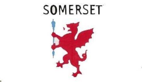 Miniflag Somerset 10 x 15 cm Fahne Flagge Miniflagge