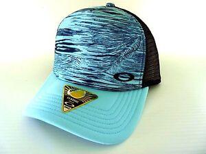 209514ffe60877 Image is loading NEW-OAKLEY-MESH-SUBLIMATED-TRUCKER-HAT-CAP-911700-