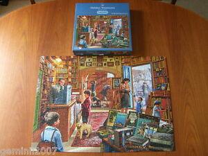 GIBSONS-PUZZLE-Hidden-Treasures-1000-Piece-Jigsaw-Complete-VVGC-XMAS