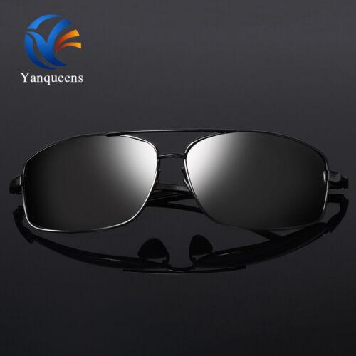 Classic Men Aluminium UV400 Polarized Sunglasses Driving Outdoor Sports Goggles