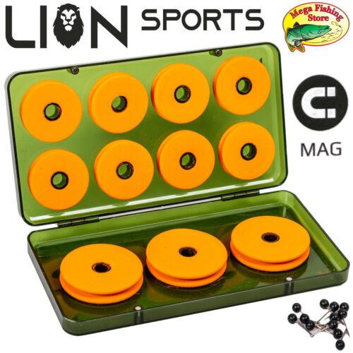 Lion Angel vorfach Rig Box avec fermeture magnétique-Tackle Angelbox//Vorfachbox