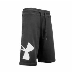 NEW-Under-Armour-UA-Rival-Fleece-Logo-Athletic-Shorts-Black-Mens-Size-XL-NWT-T2