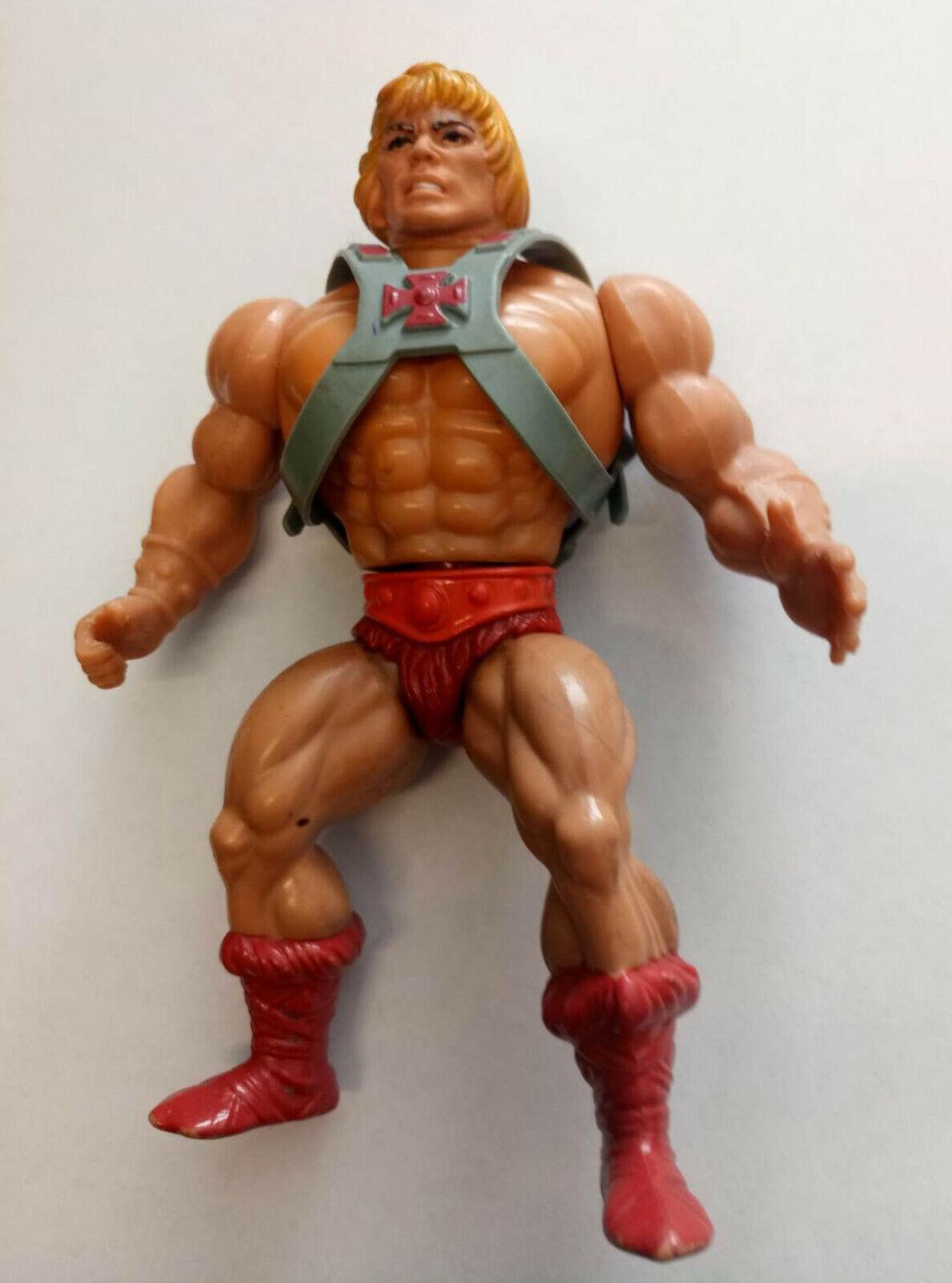 HE-MAN - Masters Of The Universe MOTU He-Man Jahr Spielzeugs anni 80 MATTEL