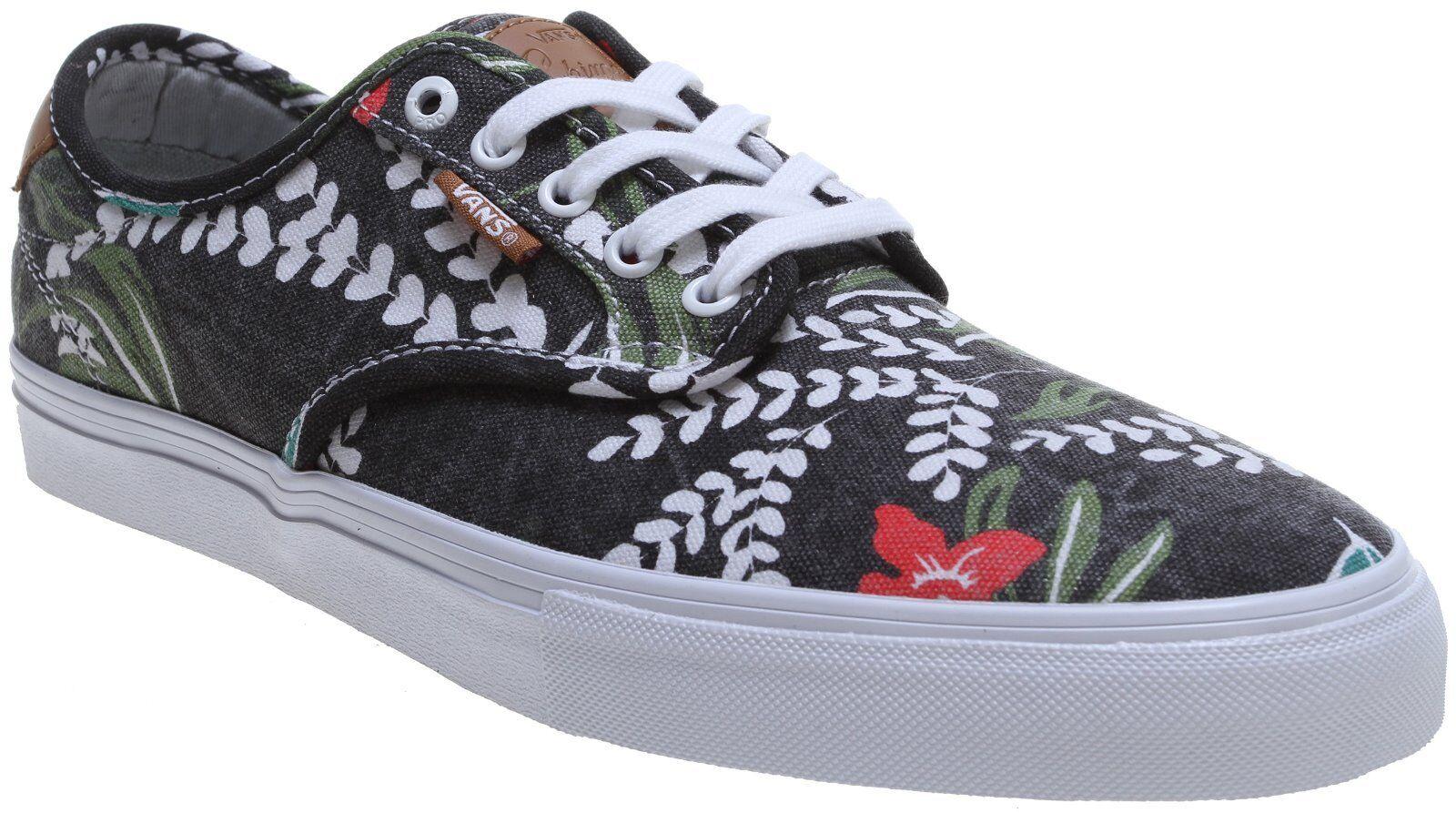 VANS CHIMA FERGUSON PRO (ALOHA) - Schuhe BLACK - MEN'S SKATE Schuhe - SIZE 9.5 11d252