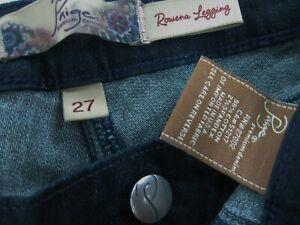 PAIGE-Premium-Denim-ROWENA-LEGGING-Slim-Skinny-Jeans-size-27-inseam-29
