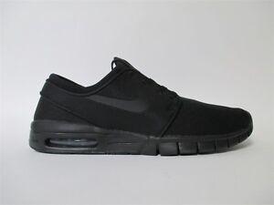 Nike SB Stefan Janoski Max Black Blackout Sz 10 631303-007