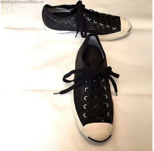 Converse Women's Jack Purcell Sequin sneakers US9