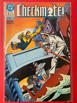 Checkmate 1988 series # 6 near mint comic book