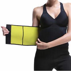 Neopren Bauchgürtel Bauchweg Gürtel Sportbandage Schwitzgürtel Rückengürtel
