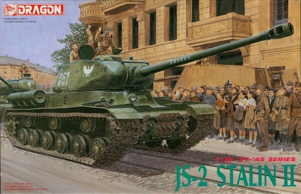 Dragon models 1 35 sclae  JS-2 Stalin II