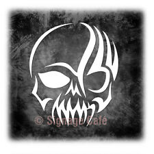 Tribal - Gothic Skull - Vinyl Car Truck SUV Window and Laptop Decal Sticker