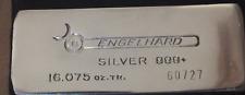 Engelhard Super Rare 16 oz (1/2 Kilo) 999 Silver Bar, Near MINT Condition!