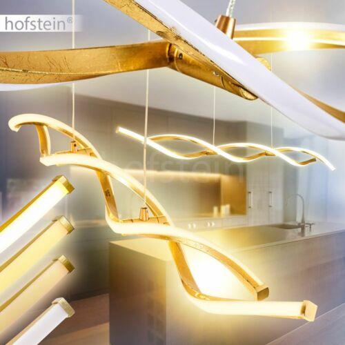 Dimmbare Hänge Leuchten LED Wellen Pendell Lampen Ess Wohn Zimmer Beleuchtung