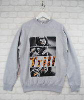 Actual Fact A$ap Asap Rocky Trill Rap Hip Hop Grey Crew Neck Sweatshirt Jumper