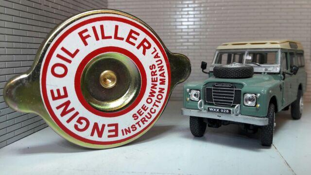 Tapón de Llenado Aceite Del Motor Land Rover Serie 2a 3 Gasolina 2.25 2.6 598231