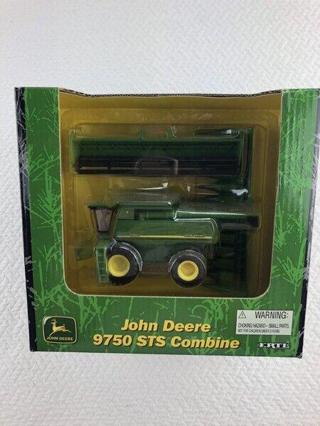 1//64 ERTL JOHN DEERE 9750 STS COMBINE W// TWO HEADS