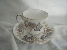 C4 Porcelain Wedgwood Lichfield Cup & Saucer 15x8cm 2C4C