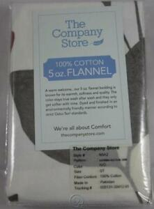 The-Company-Store-Katrina-5oz-Flannel-Standard-Size-Pillow-Sham-Ivory-White