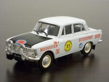 1:43 Moskvitch-412 1971 Tour d/'Europe Rally #05 DeAgostini Autolegends Special