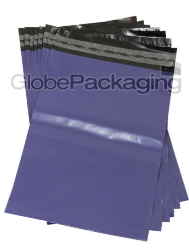 """2000 Strong PURPLE 10x14/"""" Mailing Postal Postage Bags 10/""""x14/"""" 24HRS 250x350mm"""