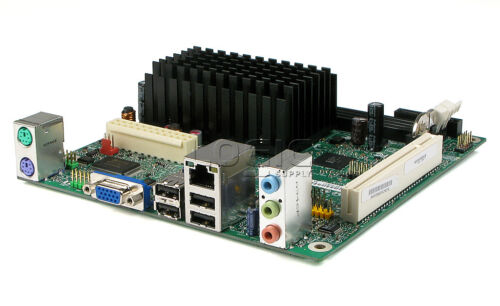 Supermicro 512L 1U Rack Mount Server Intel Atom D410 NM10 1GB 1TB SATA VGA PCI
