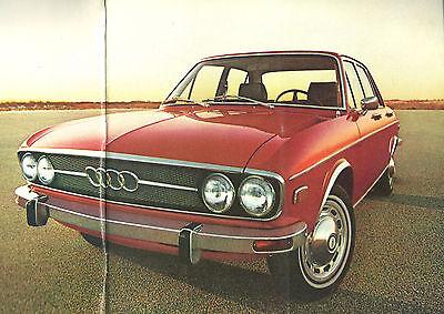 1969?1970?1971 AUDI 100 LS / Super 90 Brochure / Catalog ...