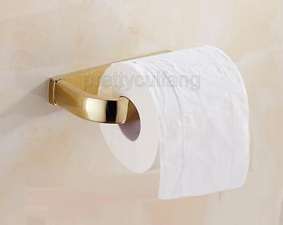 Antique Brass Ceramic base Wall Mounted Bathroom Toilet Paper Roll Holder Pba405