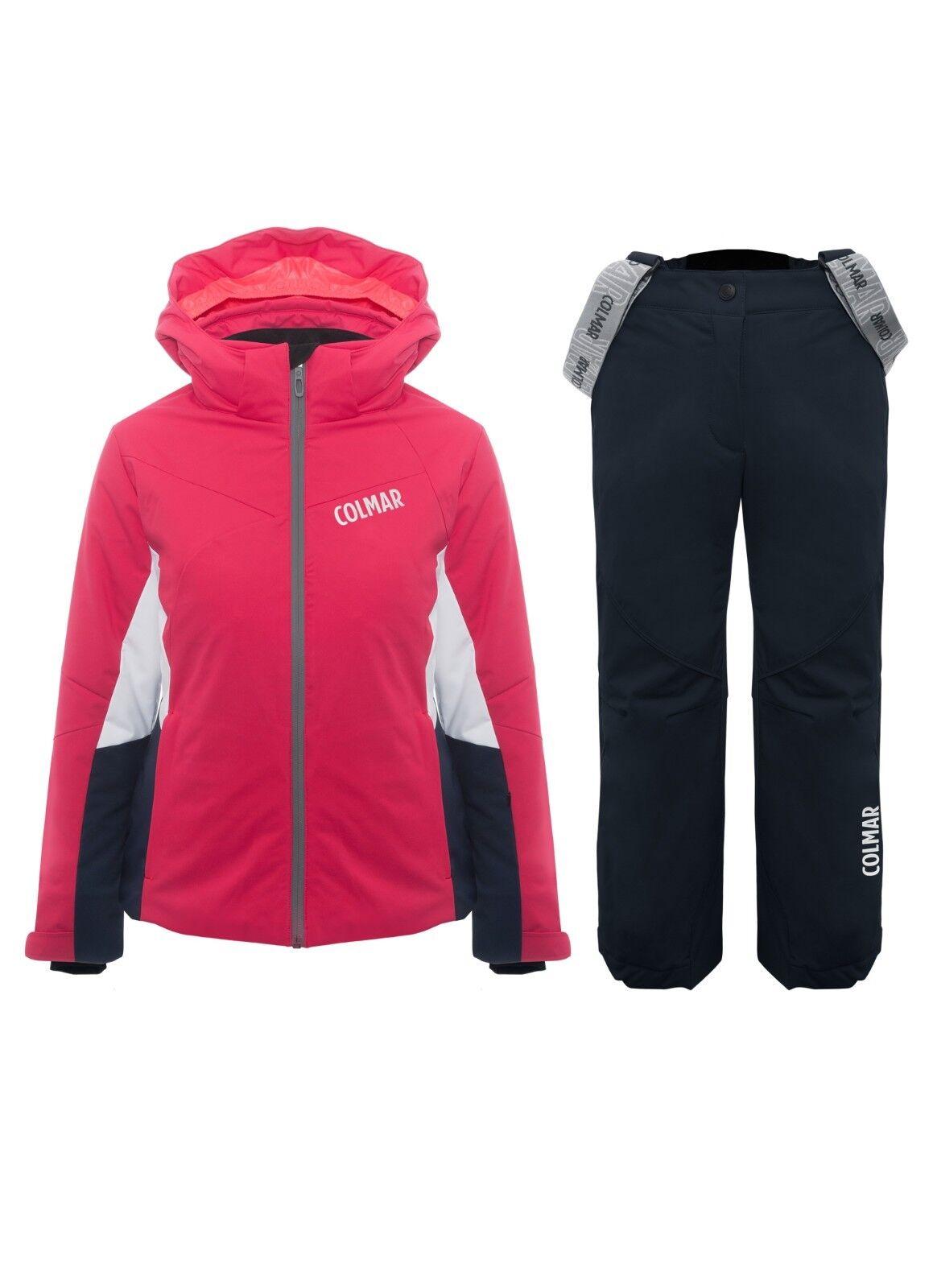 Completo neve bambina colmar sci jr giacca + pantalone mod 3123c - 3123s col 124