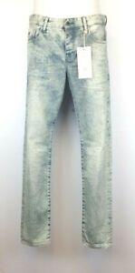 H12) Designer SCOTCH & SODA Amsterdam Blauw RALSTON Herren Jeans Gr. 31 /32 Neu