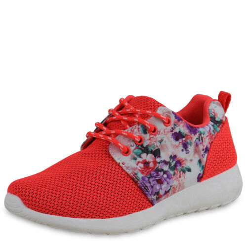 Gemusterte Damen Sportschuhe Blumen Laufschuhe Leichte Sneakers 816194 Top