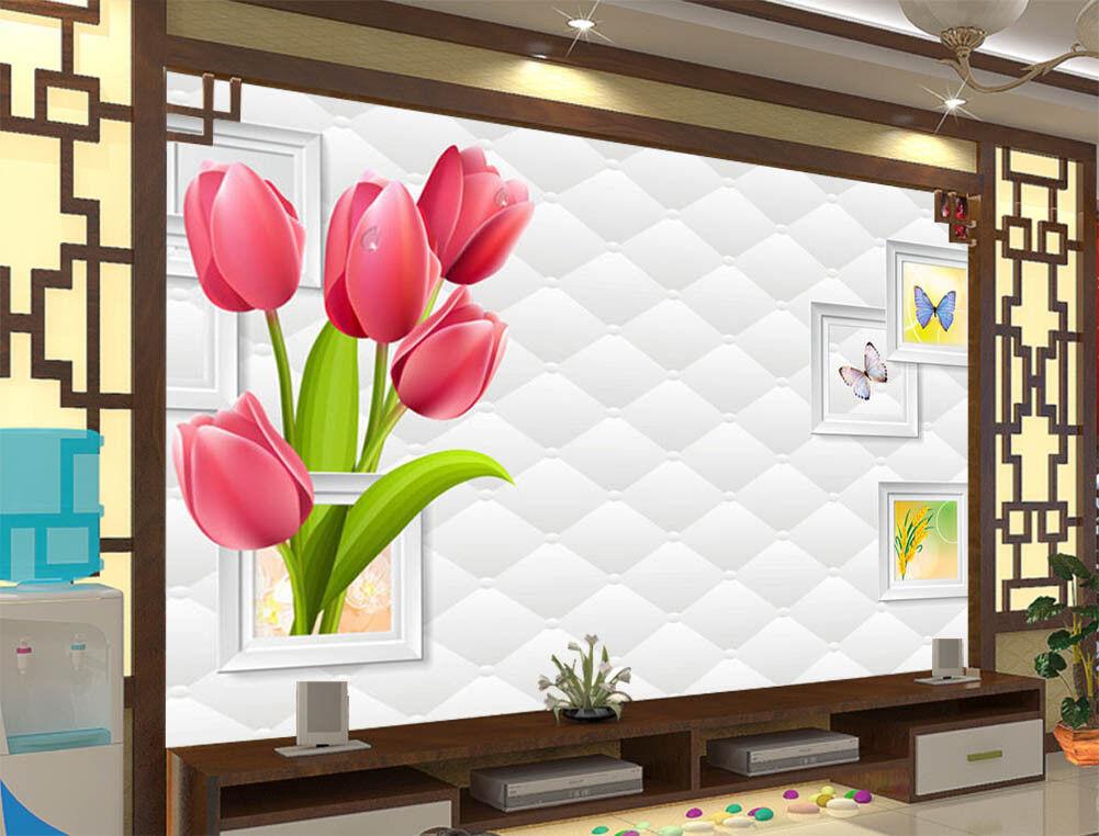 Elegantly Dining 3D Full Wall Mural Photo Wallpaper Printing Home Kids Decor