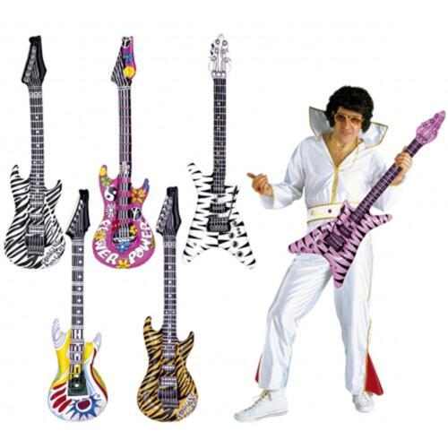 Inflatable Rockers Rock Guitar Blow Up 80/'s Elton Slash Funky Punk Disco