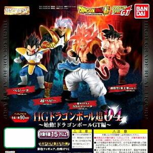 High Grade HG Dragon Ball Z // GT // SUPER Super Saiyan 4 Gogeta Figure BANDAI