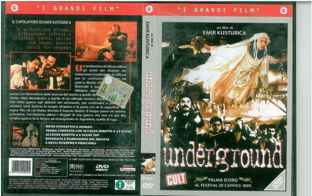 Underground - Emir Kusturica - DVD - EX RENTAL
