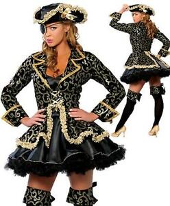 DEGUISEMENT-COSTUME-DE-PIRATE-CAPITAINE-LINGERIE-SEXY-CARNAVAL-HALLOWEEN-8250