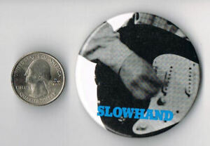 ERIC CLAPTON Slowhand LP Album PROMO PIN Button Badge