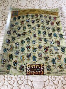 Re-print-Hasbro-Battle-Beasts-1987-Poster-Re-print-Mail-Away-Ultra-Rare