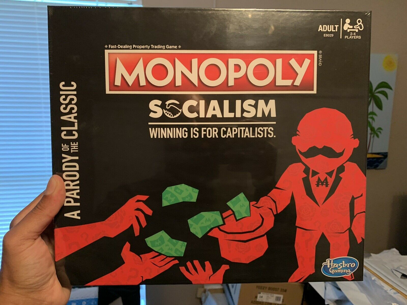 Monopoly Socialism  Winning Is For Capitalists Parody Of The classeic nuovo In He  miglior prezzo migliore