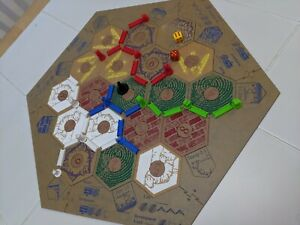 Tokens More Cards Settlers of Catan Cities /& Knights Replacement Parts Tiles