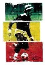 15820 Bob Marley Playing Soccer Rasta Reggae 1977 One Love Color Sticker / Decal