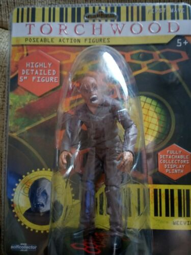 Doctor Who Poseable Weavil Action Figure New in Sealed Packaging. Torchwood
