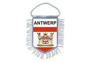 Mini-banner-flag-pennant-window-mirror-cars-country-banner-belgium-antwerp